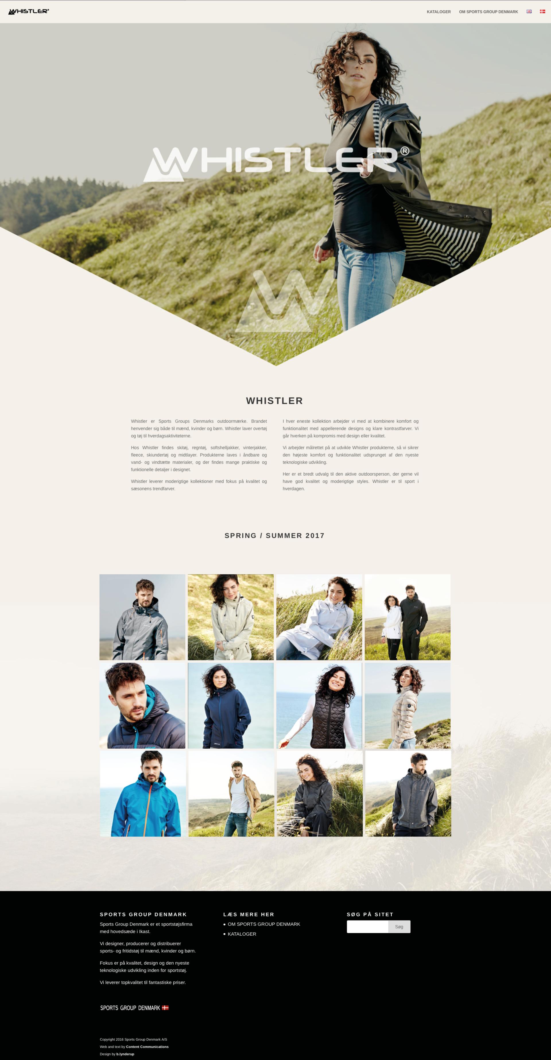 Hjemmeside Whistler
